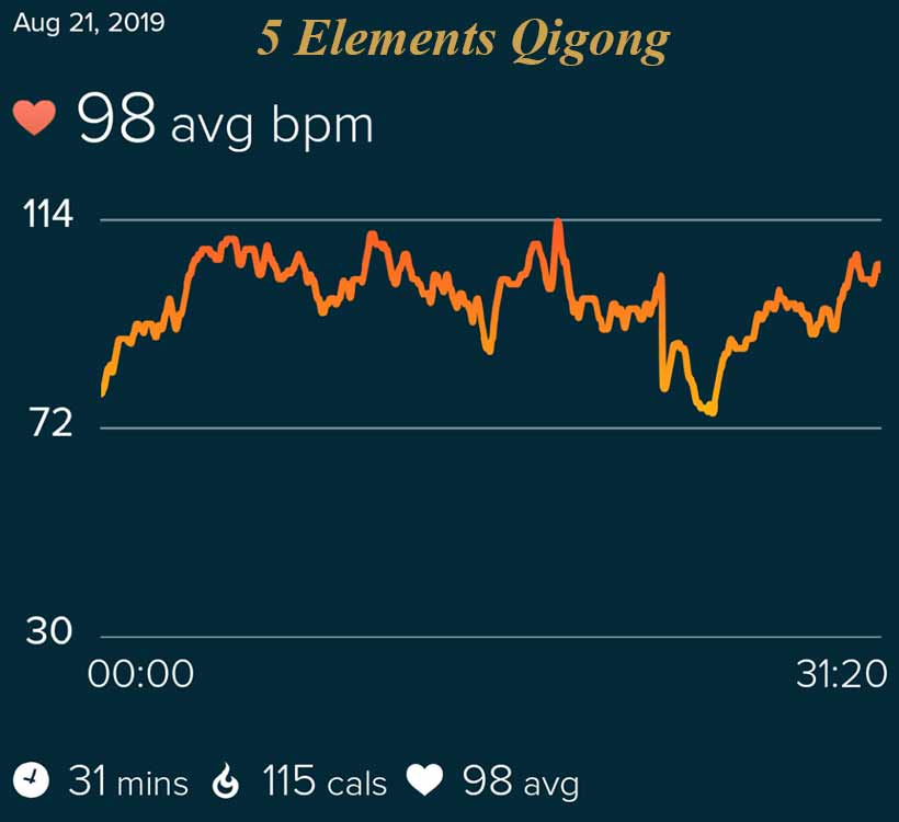 Qigong Basics 5 Elements Heart Rate
