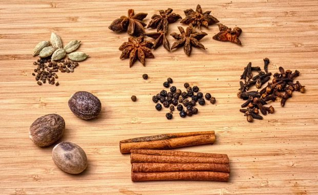 Masala chai tea spices