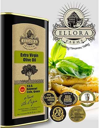Ellora farms olive oil awards