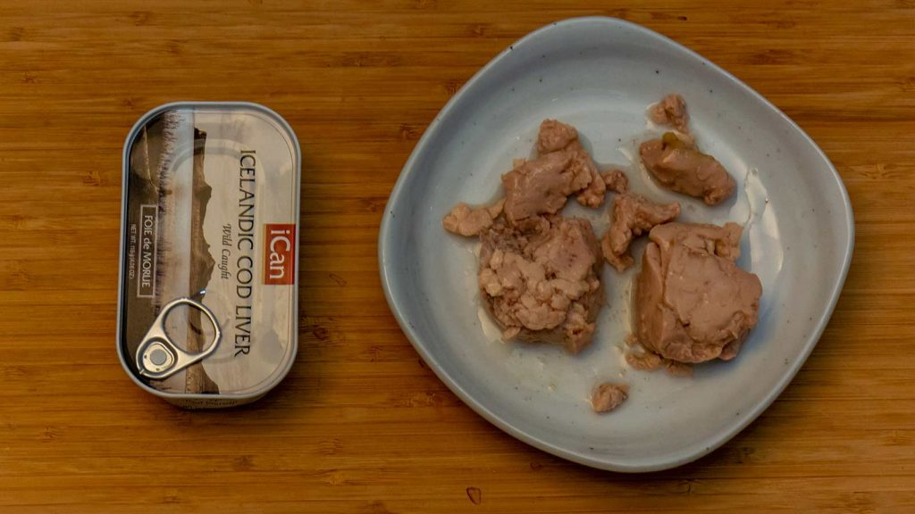 Canned Icelandic Cod Liver