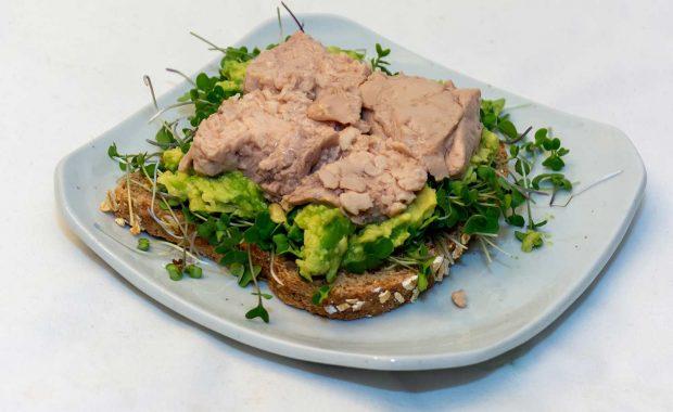 Cod Liver sandwich
