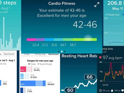 Fitbit Charts for July 2021